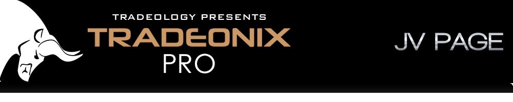Tradeonix Pro JV Page